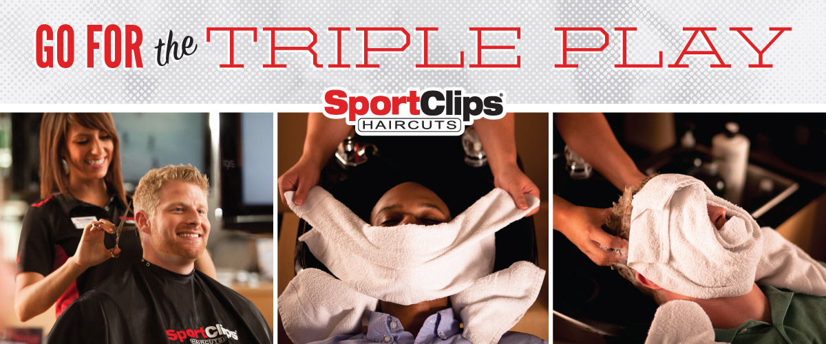 The Sport Clips Haircuts of Dubuque Triple Play